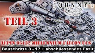 Teil 3 - Lepin Millennium Falcon 05132 - Bauschritte 8 - 17 + abschiessendes Fazit