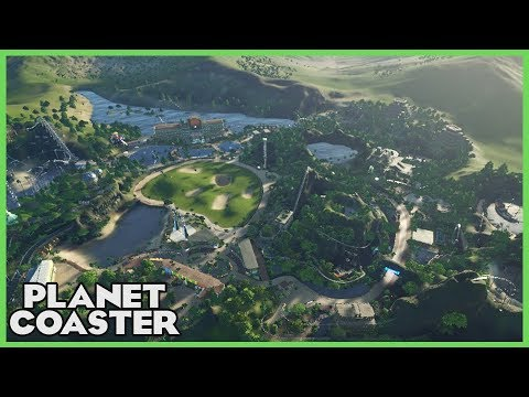 JUNGLE CLUB! Tropical Theme Park & Resort! Park Spotlight 83 #PlanetCoaster
