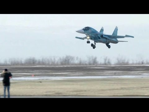 Экзамен на боевую готовность сдают экипажи новейших фронтовых бомбардировщиков в ЮВО.