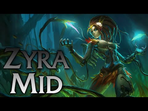 League of Legends | Haunted Zyra Mid - Full Game Commentary