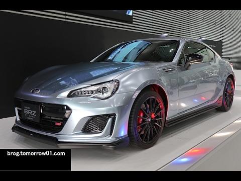 Subaru Brz Sti Sport Concept Youtube