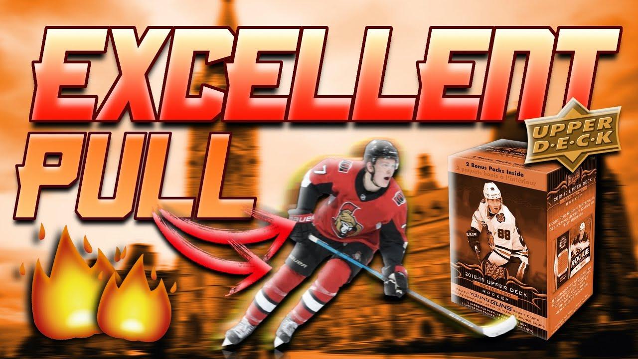 2018-19 Upper Deck Series 2 Hockey Blaster Box Break