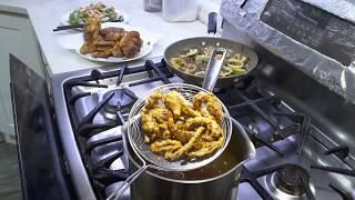 Cua lột chiên giòn sốt bơ tỏi - New York/ Crispy Soft shell crab & Garlic butter sauce