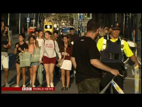 Tom Sanderson BBC World News America: Barcelona Attacks on August 17, 2017