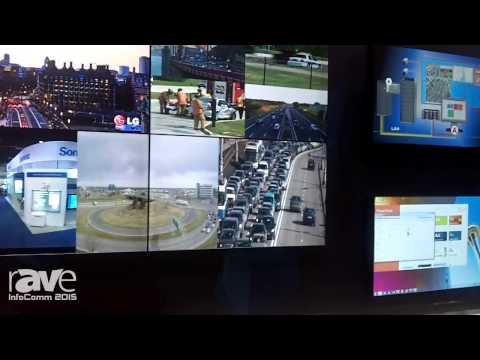 InfoComm 2015: VuWall Demos Bird's Eye View Feature of the VuWall2