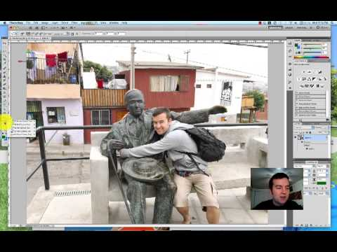 Photoshop Object Rotate Tool from Video School Online