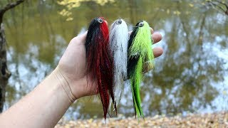 Fly Fishing Cold Water Pike - New Streamers