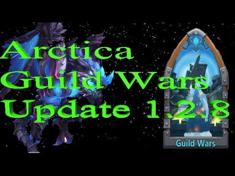 Castle Clash New Arctica Hero, Guild Wars, And More Update 1.2.8