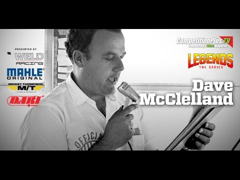 LEGENDS: THE SERIES - THE LEGEND OF DAVE MCCLELLAND