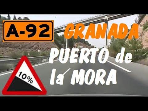 A-92 Granada , Autovía Sevilla-Almería , Pto.de la Mora -Enlace A-44 / Granada Province -