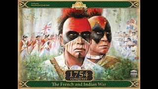 Dad vs Daughter - 1754 Conquest: The French and Indian War - Unboxing