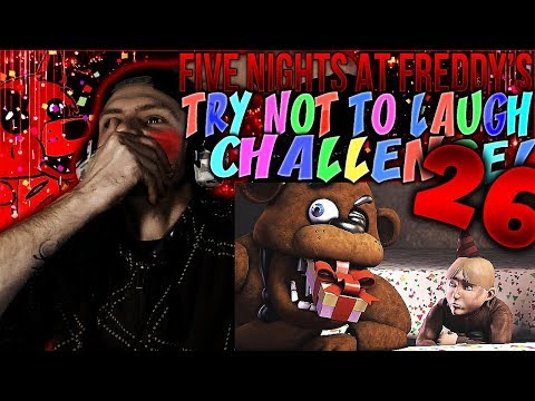 Vapor Reacts #562   [FNAF SFM] FIVE NIGHTS AT FREDDY'S TRY NOT TO LAUGH CHALLENGE REACTION #26
