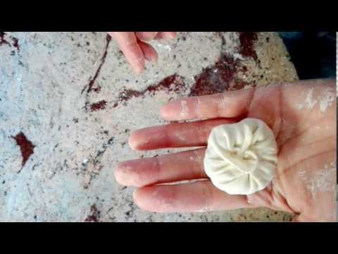 How to fold a xiao long bao