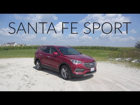 2018 Hyundai Santa Fe Sport   Full Rental Car Review