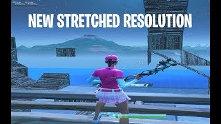 *NEW* How to get stretched resolution in Fortnite v8.30