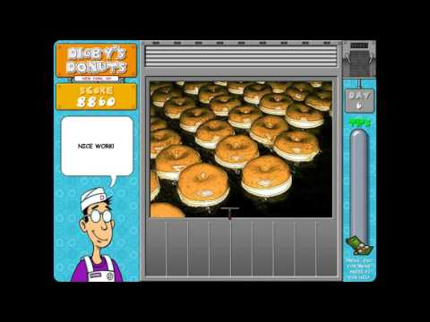Digby's Donuts -  Game House Level 1-12