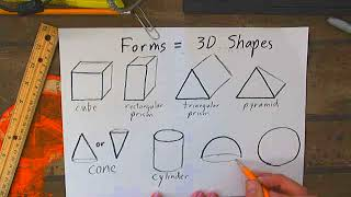 Drawing 3D shapes (Forms)