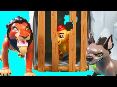 Disney The Lion King Scar Captures Kion | Simba Rescues Kion