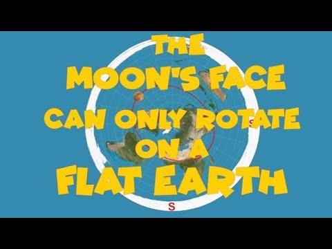 The Moons Face can only Rotate on a Flat Earth thumbnail