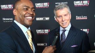 Micheal Buffer talks Canelo vs GGG 2
