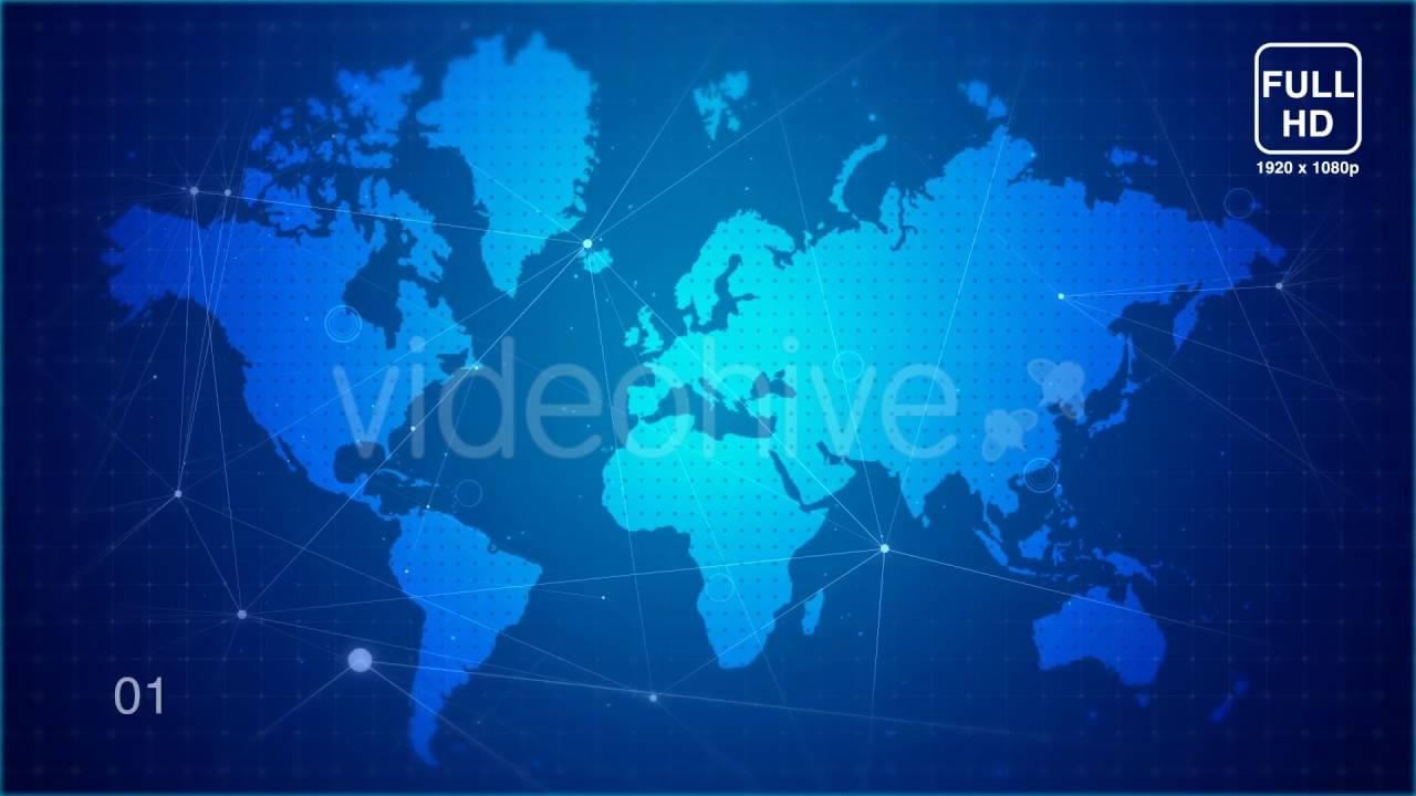 Digital world map 2 motion graphics youtube digital world map 2 motion graphics gumiabroncs Image collections