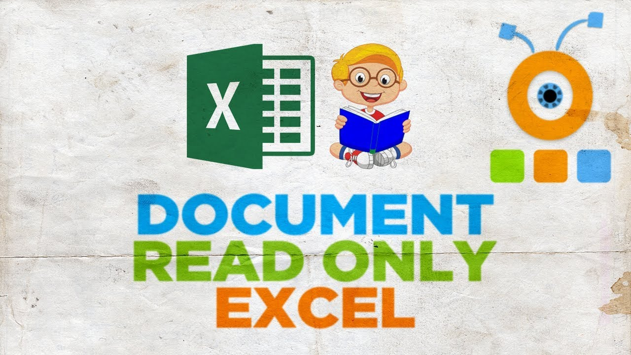 How To Make Excel Document Read Only How To Save Excel As Read Only Youtube How to open excel read only