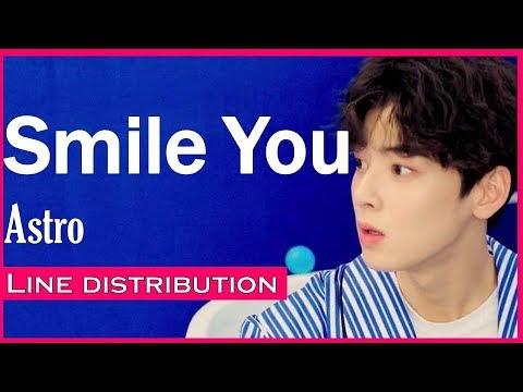 Astro-Smile You (Line Distribution)