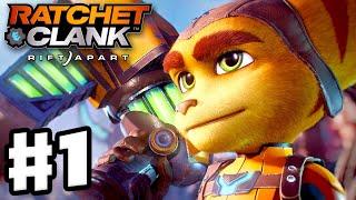 Ratchet & Clank: Rift Apart - Gameplay Walkthrough Part 1 - Intro and Nefarious City! (PS5)