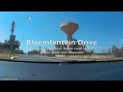 South Africa - Drive through Bloemfontein (X2 Speed)