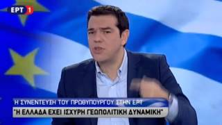 Η συνέντευξη Τσίπρα στην ΕΡΤ