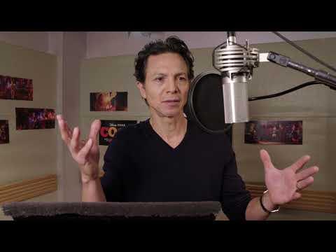 Benjamin Bratt's Voice Recording for Pixar's Coco