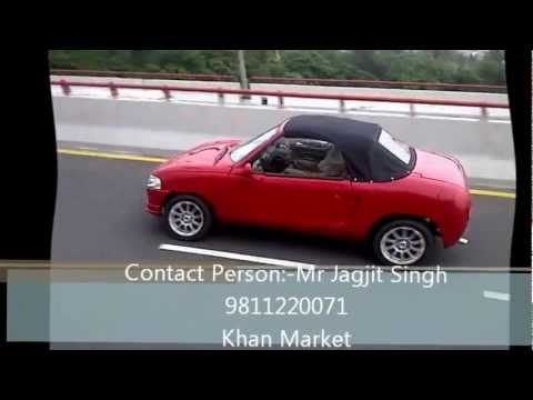 Maruti Modified Sports Convertible By Mr Jagjit Singh Youtube