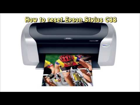 Reset Epson C88 Waste Ink Pad Counter