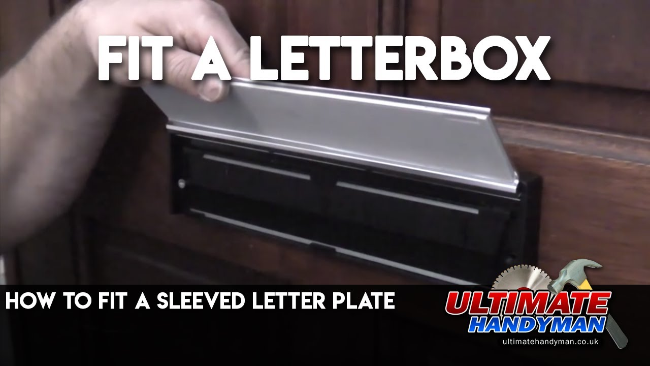 & How to fit a sleeved letter plate - YouTube pezcame.com