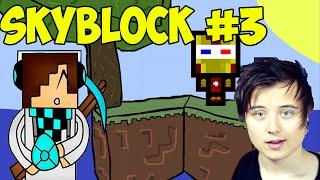 Прохождение карты SkyBlock #3 (не лололошка мистик и лаггер фирамир ивангай фрост майнкрафт)