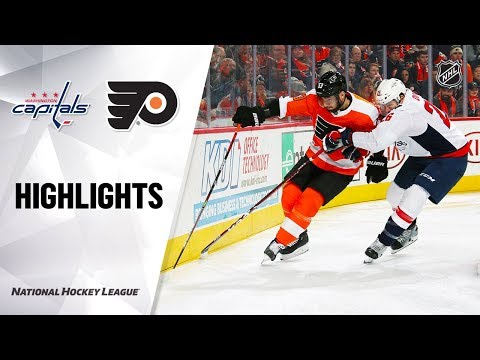 NHL Highlights | Capitals @ Flyers 11/13/19