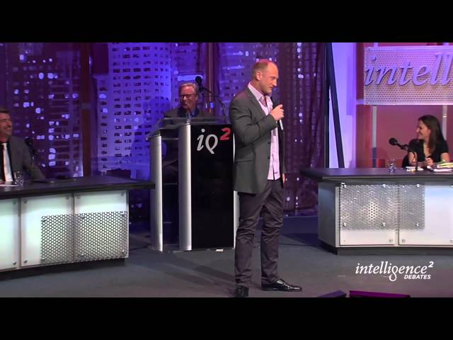 Intelligence Squared U.S. 100th Debate Rap