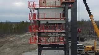 Шеф-монтаж асфальтобетонного завода NFLG Duetto_1800 Республика Саха (Якутия)