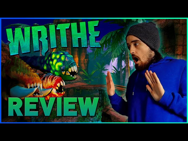 WRITHE REVIEW (Switch) - A Wriggling Arcade Shooter! - Billybae10K