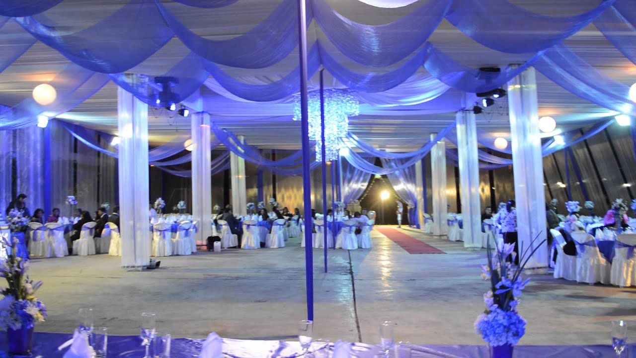 boda elegante azul electrico local huanka huaral aguirre eventos huaral city youtube