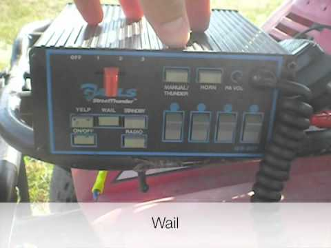 hqdefault galls gs 207 siren demo youtube whelen gamma 2 wiring diagram at webbmarketing.co