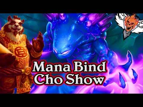 Mana Bind Cho Show 🍀🎲 ~ Journey to Un'Goro ~ Hearthstone Heroes of Warcraft