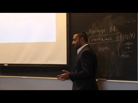 Sahil Jaggi Lecture at the Schulich School of Business - 2015