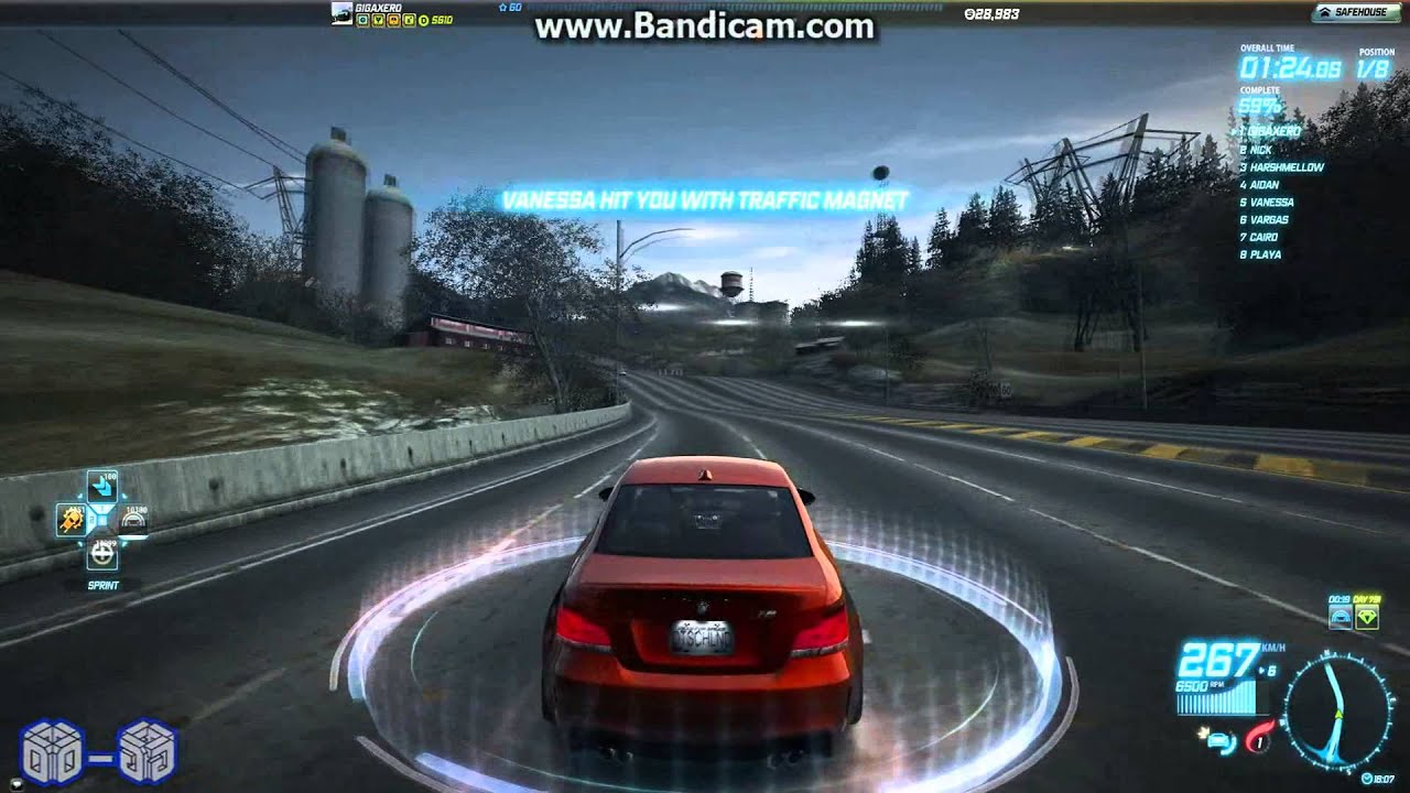 Nfs world bmw 1m coupe 599 b lions challenge in 2 10 23