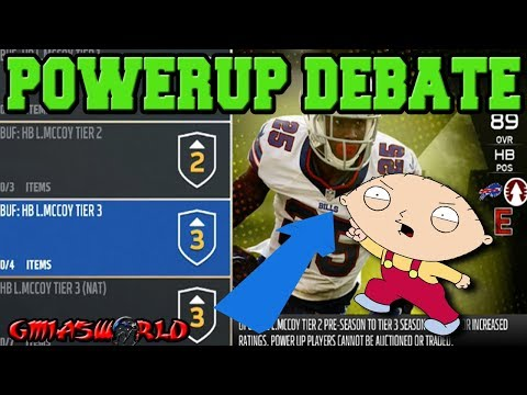 Are PowerUp Cards Worth it in Madden 18 Ultimate Team? The Brutal TRUTH About MUT 18 PowerUp Items!