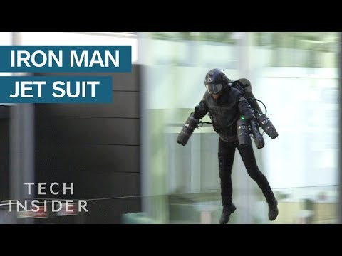 Real Life Iron Man Jet Suit