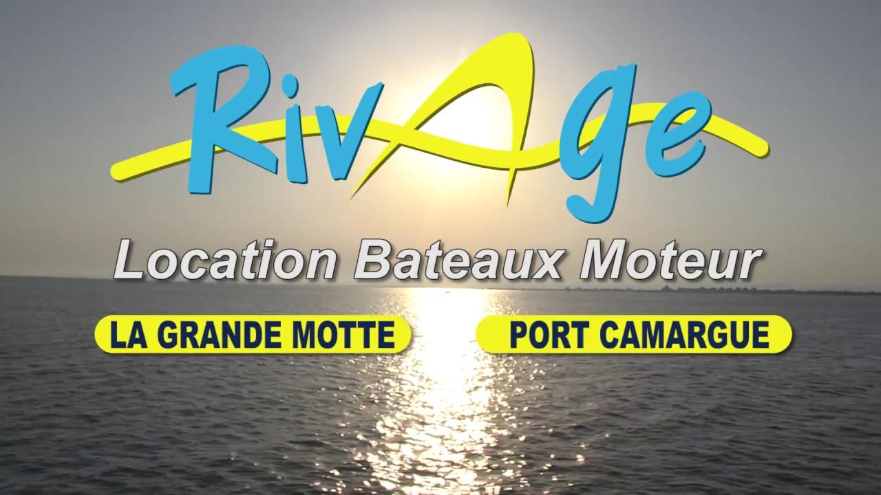 Rivage Location De Bateau à Moteur YouTube - Location bateau port camargue