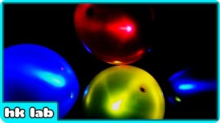 Glowing Balloons Science Experiment