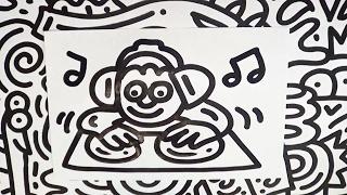 How To Draw a DJ