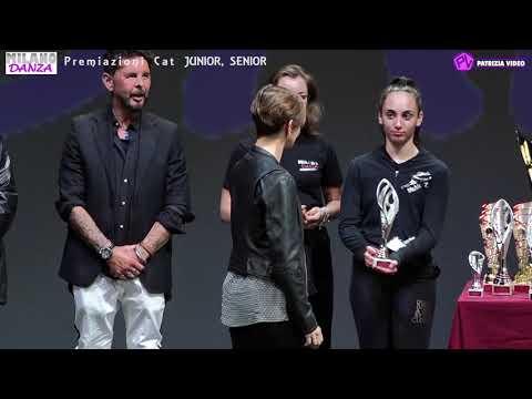 """Milano Danza Competition 2019 """"Premiazione seconda parte"""" Cat JUNIOR e SENIOR"""